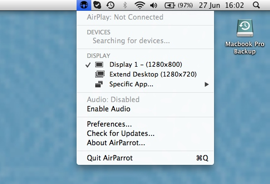 AirPlay Interface