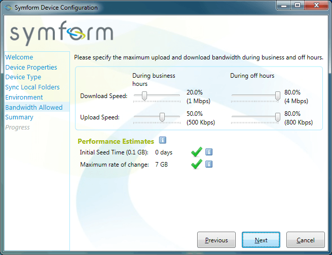SymForm Interface