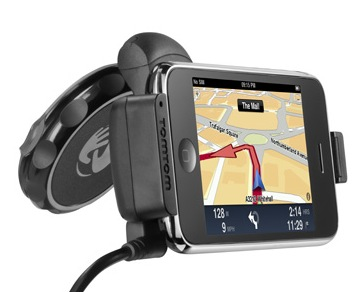 TomTom iPhone Interface