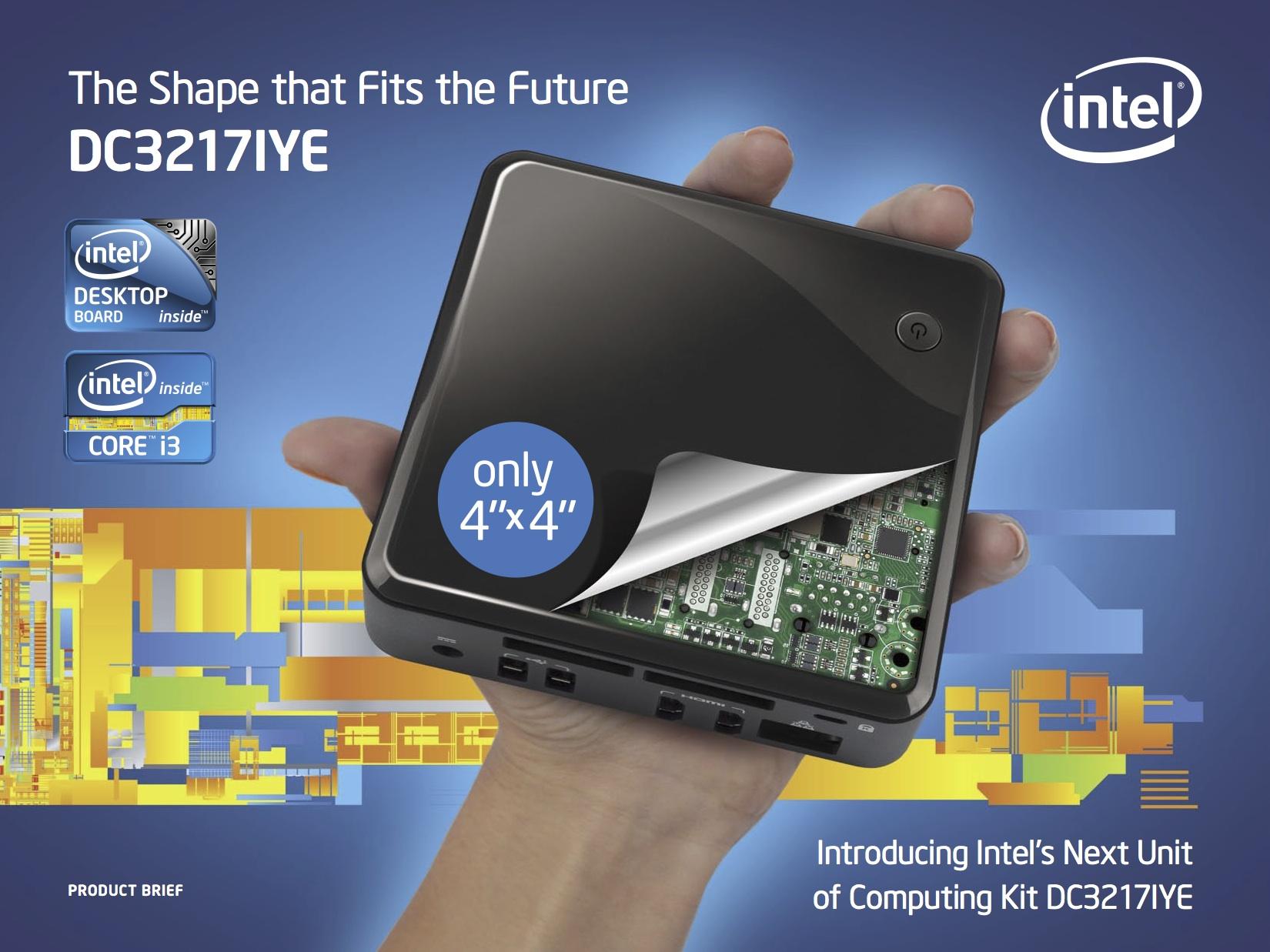 Intel NUC DC3217iYE