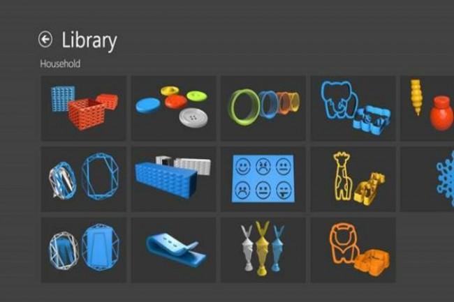 3D Builder App
