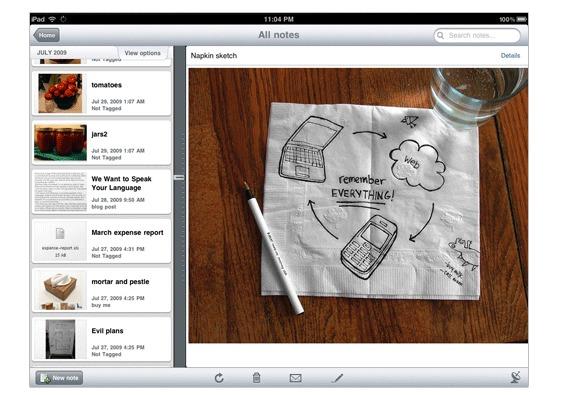Apple Notes App