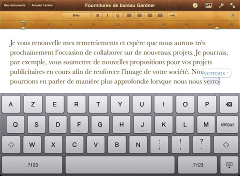 Apple Pages App