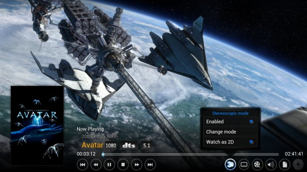 XBMC Interface