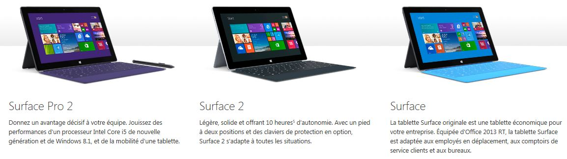Microsoft Surface Collection