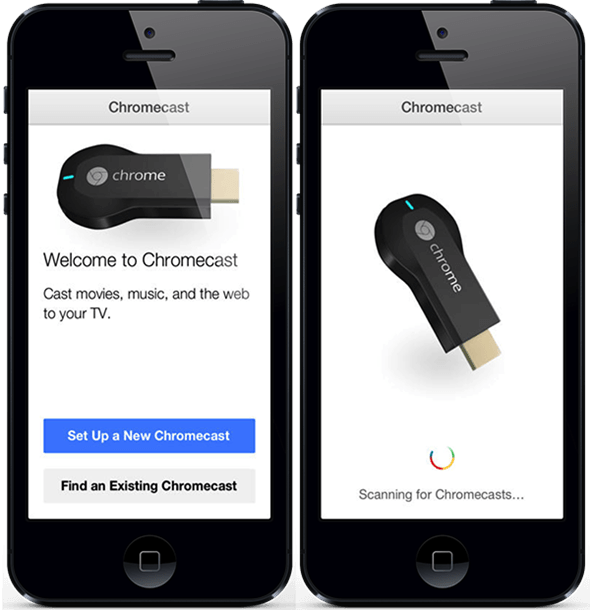 Google Chromecast iPhone App