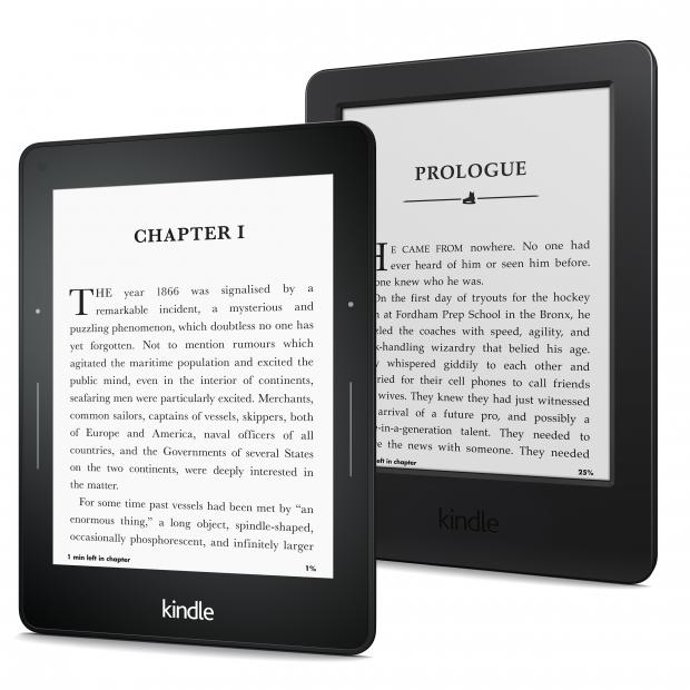 kindle voyage and kindle paperwhite
