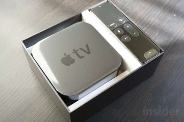 apple tv 4 box content