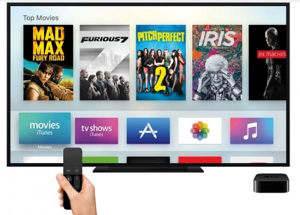 apple tv 4 tvOS interface